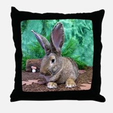 Fezzik in the Woods-1 Throw Pillow