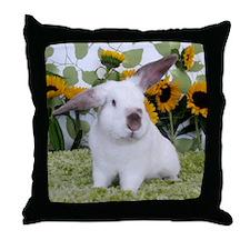 Presto with Sunflowers-2 Throw Pillow