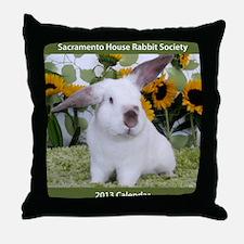 Calendar Cover-Presto in Sunflowers 2 Throw Pillow
