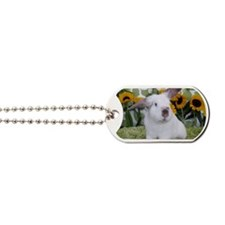 Calendar Cover-Presto in Sunflowers 2 Dog Tags