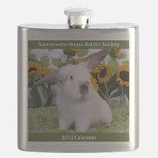 Calendar Cover-Presto in Sunflowers 2 Flask