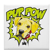 Pup Pow Tile Coaster