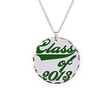 Green Class of 2013 Necklace