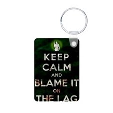 Blame the lag Keychains