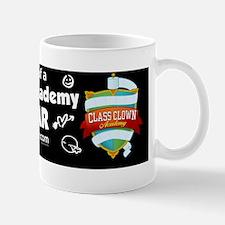bumper sticker all star black crest Mug