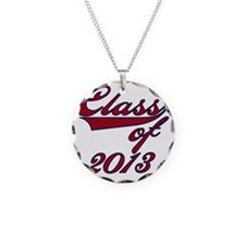 Red Class of 2013 Necklace