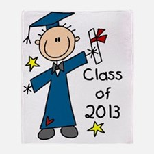 Boy Graduate 2013 Throw Blanket
