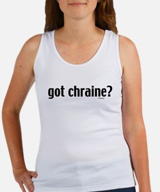 Got Chraine? Jewish Women's Tank Top