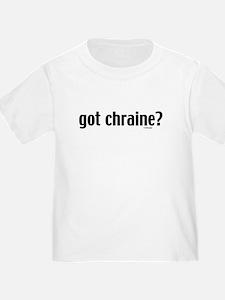 Got Chraine? Jewish T