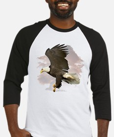Eagle in Clouds Baseball Jersey