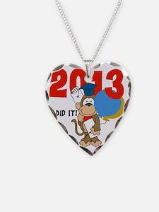 Monkey Graduation 2013 Necklace