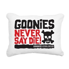 never say die Rectangular Canvas Pillow