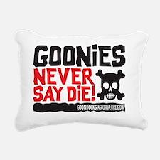 never say die Rectangular Canvas Pillow