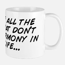 Let go of all the things that don' Mug