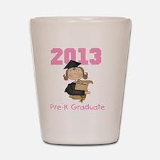 Girl 2013 Pre-K Graduate Shot Glass