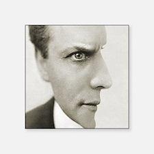 "Houdini Optical Illusion Ho Square Sticker 3"" x 3"""