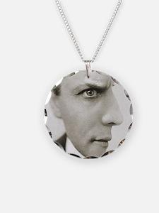 Houdini Optical Illusion Hor Necklace
