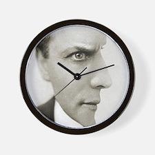 Houdini Optical Illusion Horizontal Wall Clock