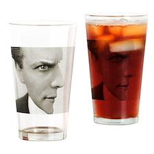 Houdini Optical Illusion Horizontal Drinking Glass