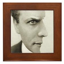 Houdini Optical Illusion Horizontal Framed Tile