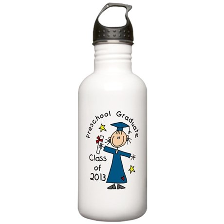 Stick Figure Girl 2013 Stainless Water Bottle 1.0L