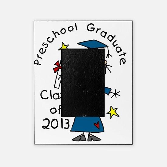Stick Figure Girl 2013 Preschool Gra Picture Frame