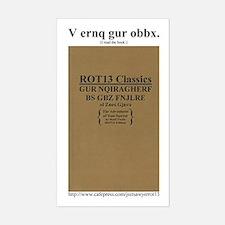 ROT13 Classics - Tom Sawyer Rectangle Decal