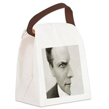 Houdini Optical Illusion Canvas Lunch Bag