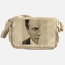 Houdini Optical Illusion Messenger Bag