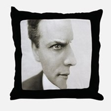 Houdini Optical Illusion Throw Pillow