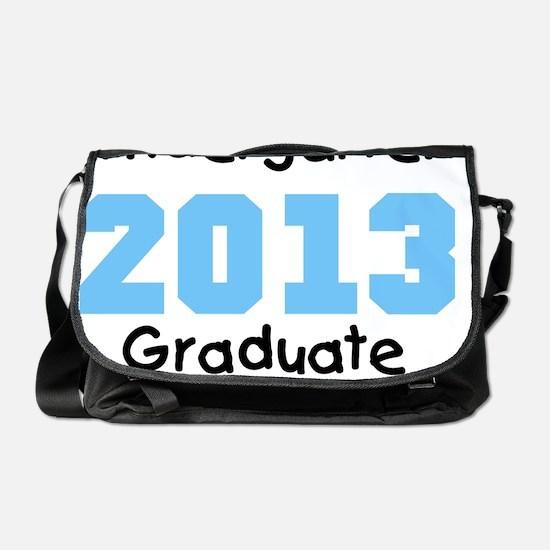 Blue Kindergarten Graduate 2013 Messenger Bag