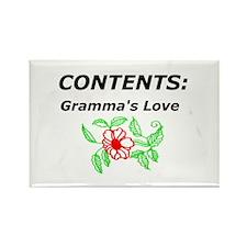 Grammas Cookies Rectangle Magnet