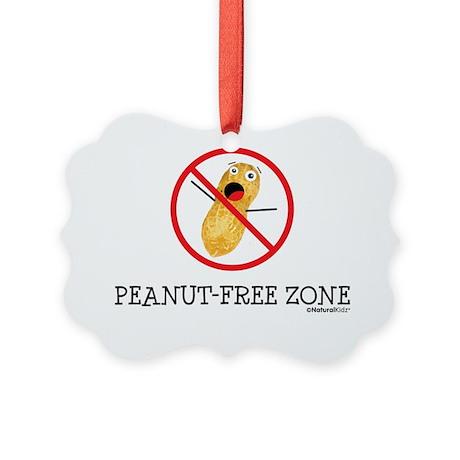 Peant-Free Zone Picture Ornament