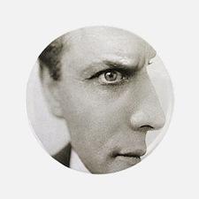 "Houdini Optical Illusion Vertical 3.5"" Button"