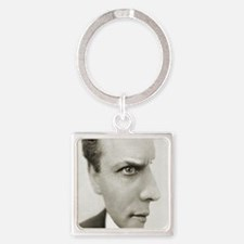 Houdini Optical Illusion Vertical Square Keychain
