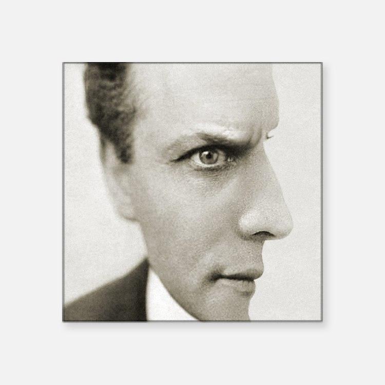 "Houdini Optical Illusion Ve Square Sticker 3"" x 3"""