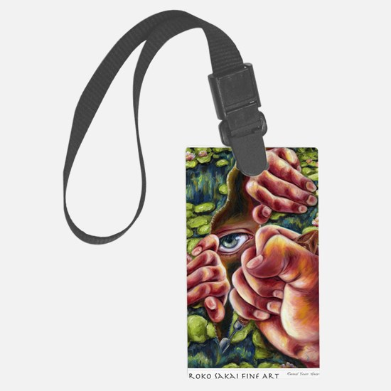 Reveal Your Heart Luggage Tag