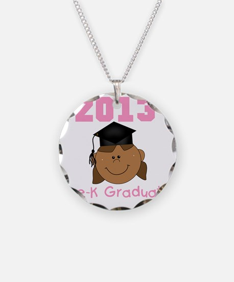 2013 African American Girl P Necklace
