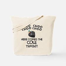 Cole Train Tote Bag