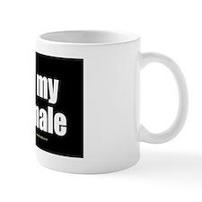 I Love My Shemale wallpeel Small Small Mug