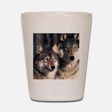 two wolf Shot Glass