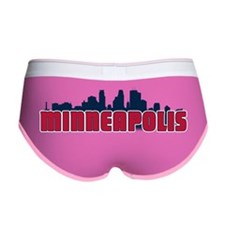 Minneapolis Skyline Women's Boy Brief