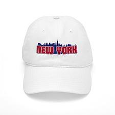 New York Skyline Baseball Cap