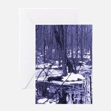 Winter Wilderness Greeting Card