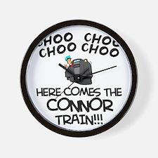 Connor Train Wall Clock