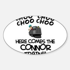 Connor Train Oval Decal