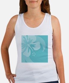 Aqua Luggage Handle Wrap Women's Tank Top