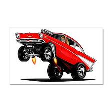 57 Gasser Wheelie Car Magnet 20 x 12