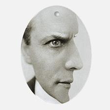 Houdini Optical Illusion Oval Ornament