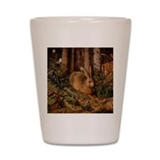 Rabbit In The Woods Shot Glass
